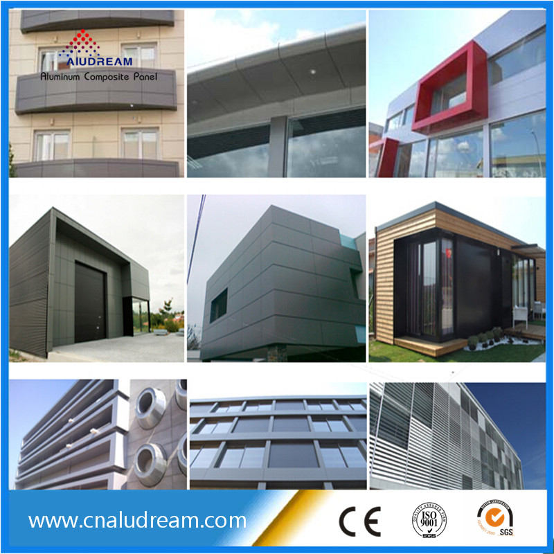 Exterior Wall Panels Acp Fasade Aluminum Composite Panel