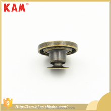 Custom made garment accessories round metal jeans button for trousers garment
