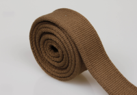 Wholesale army green 35mm woven cotton webbing from manufacturers