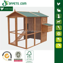 DFPETS DFC008 Big Wooden Breeding Farm Cage For Chicken