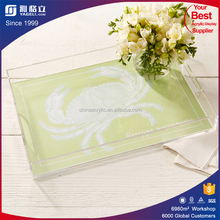 2016 acrylic fruit plate candy display trays