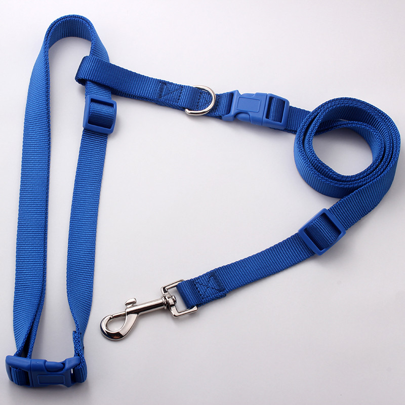 Factory wholesale cheap nylon running hands free dog leash
