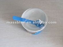 Disposable Custom Logo Ice Cream Paper Cup With Plastic Dome Lid