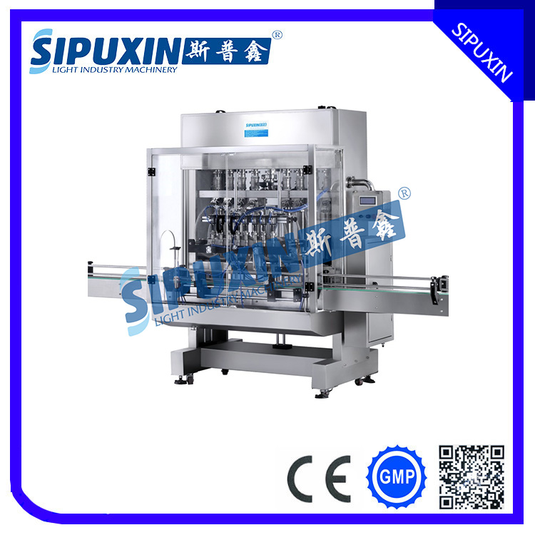 Guangzhou Fully Automatic liquid/ paste/ cosmetic/lotion Filling Machine