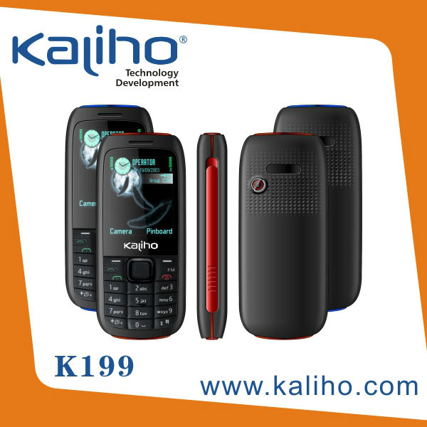 Chinese telecom equipment mobil telefon 2.0 inch dual sim low price movil support wap/gprs k199