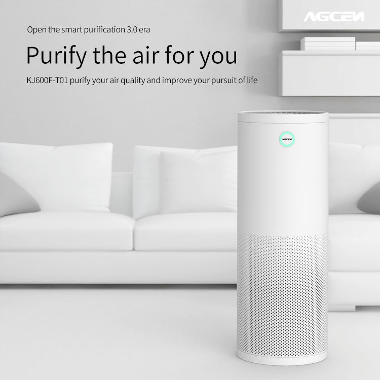 Smart ionic air purifier pm2.5 for home