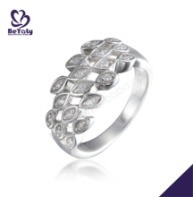 Women multi cz eyes design silver jewellery online