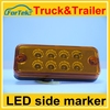 Factory price 12v/24v side marker light truck led lights tail light long warranty