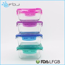 borosil clear lunch box food storage glass container . * / ~
