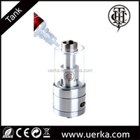 Top-fill design full 304 stainless best tank, sub ohm tank clearomizer