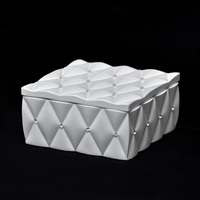 Poly Jewelry and Accessories Storage Container with Lid