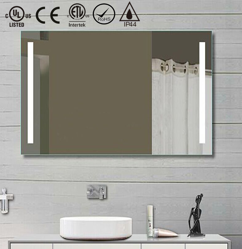 Hotel Bathroom Ip44 Waterproof Backlit Vanity Mirror - Buy Backlit Vanity Mirror,Ip44 Waterproof ...