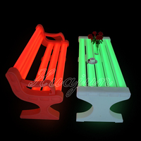 LED garden chair/used park benches for sale
