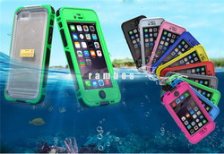 Waterproof Anti-Shock Transparent Clear PC Silicone Mobile Shockproof Phone Case for iPhone 6S 6 4.7
