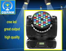 2015 Guangzhou led moving head, 36*3w RGBW LED mini moving head light stage light