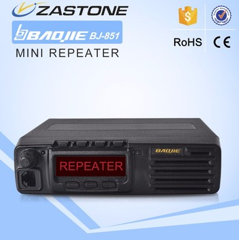 MINI repeater BAOJIE BJ-851 UHF 400-470MHz band radio repeater for walkie talkie