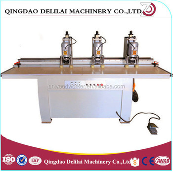 3 Heads Hinge Boring Machine for woodworking