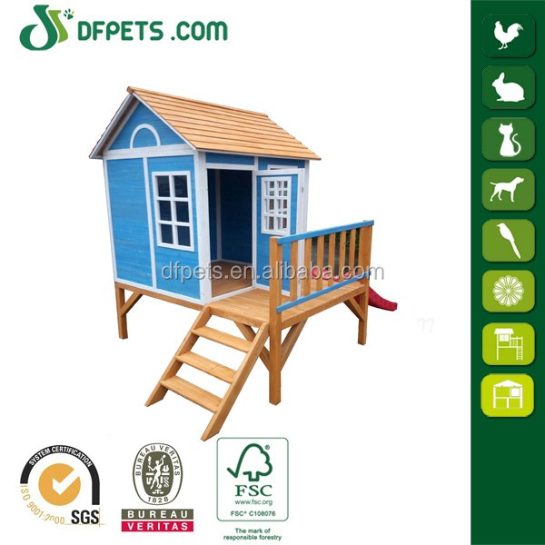 Cheap Price Wooden Playhouse For Kids Outdoor