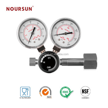 Two stage aquarium CO2 pressure regulator high quality