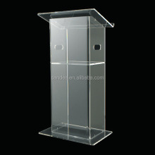 Transparent Organic Glass Church Pulpit in Sample Design