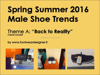 Spring Summer 2016 Male Shoe Trends, Theme A