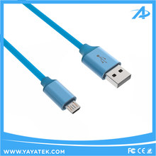 2017 Latest style TPE aluminium housing usb to micro usb cable