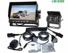 Freeze protection wireless truck Bus reversing camera system