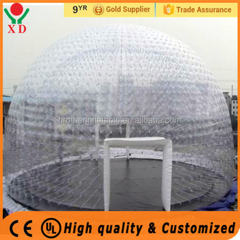 Transparent Bubble Room For Rest Bubble Tents Transparent inflatable clear room