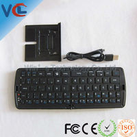 Black Bluetooth Folding tablet pc wifi wireless keyboard