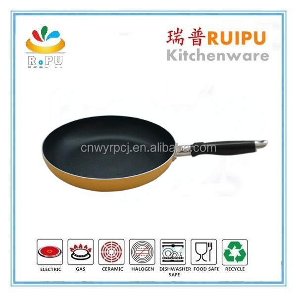Eco-Friendly High Quality non-stick large springform pan italy frypan with induction bottom