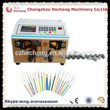 Automotive wiring harness enamel coated wire paint scraper machine electric car cable cutting and stripping machine