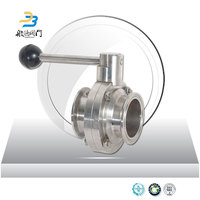 1 Inch Baf Sanitary Butterfly Valves Supplier In Paranaque