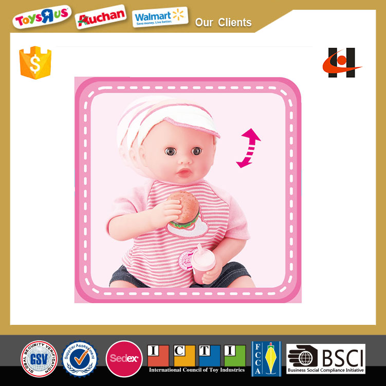 2014 new cute small silicone baby doll pictures