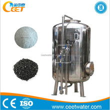 Fast filtering speed mechanical manganese sand filteration device