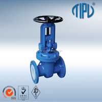 Cast iron gate valve with OS&Y handwheel flange MSS SP-70