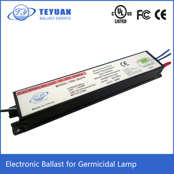 Electronic Ballast for Germicidal UV Lamp