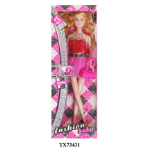 wholesale plastic mini craft dolls to dress