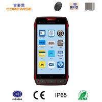 handheld wireless 3g wifi bluetooth android nfc cell phone with optional contact IC card reader,rfid,uhf rfid