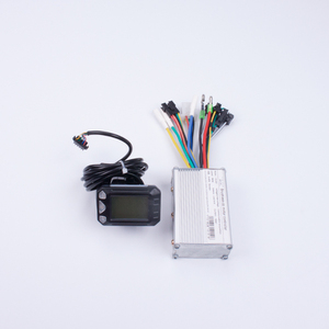 Electric scooter brushless dc controller and lcd speed meter set