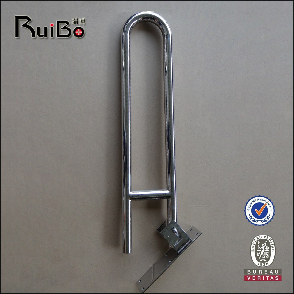 commercial shower room toliet U shape stainless steel grab bar RB-3268