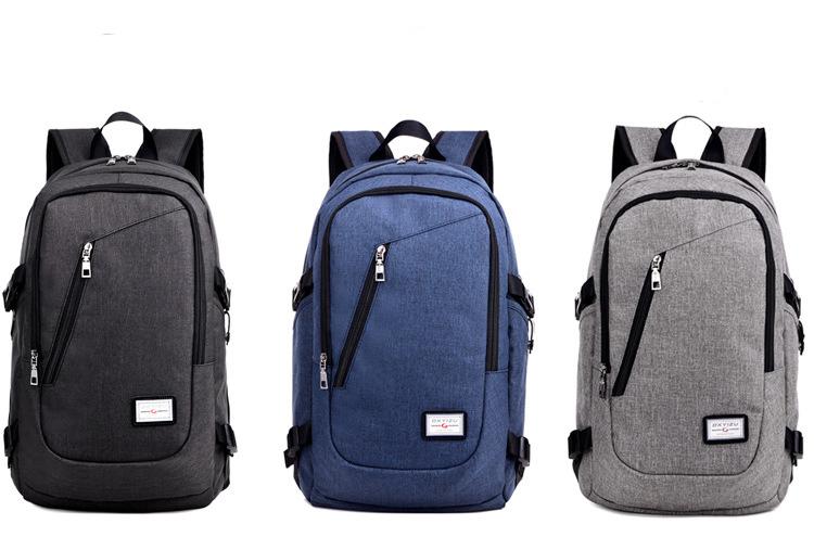 2017 designer unisex school daypack 15.6 inch usb backpack bag laptop