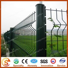 High quality all kinds of fence mesh peach type column fence netting chain link fence