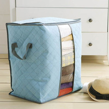 storage bag for blankets quit storage box with zipper seal