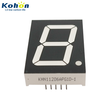 KHN11206APG1D-1 Pure green Common Anode single digit seven segment display