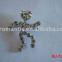 Fashion Crystal Brooch