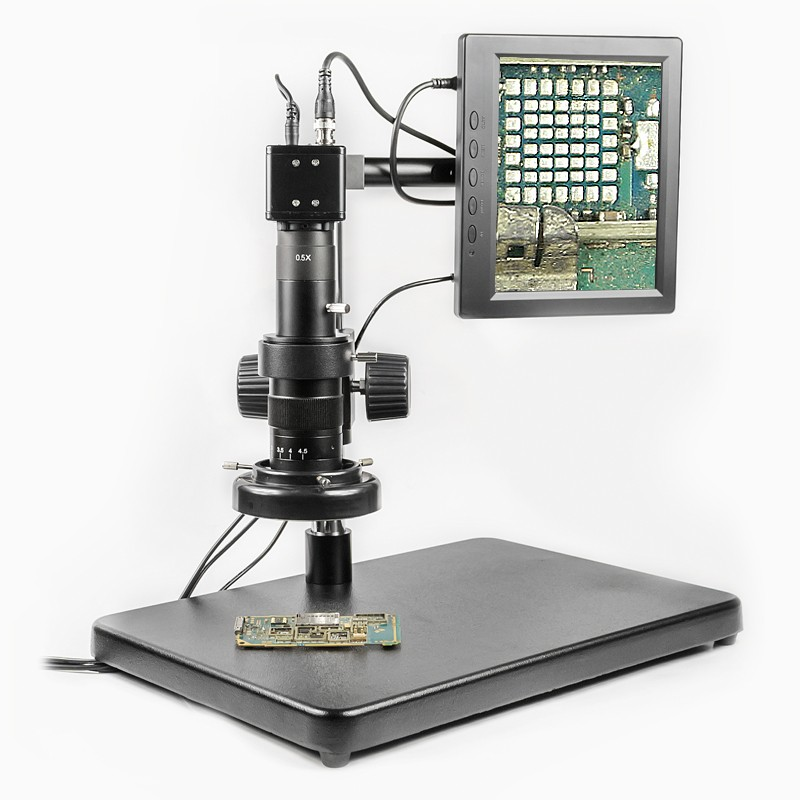BAKU hot selling good price ba 002 electronic repair video digital microscope