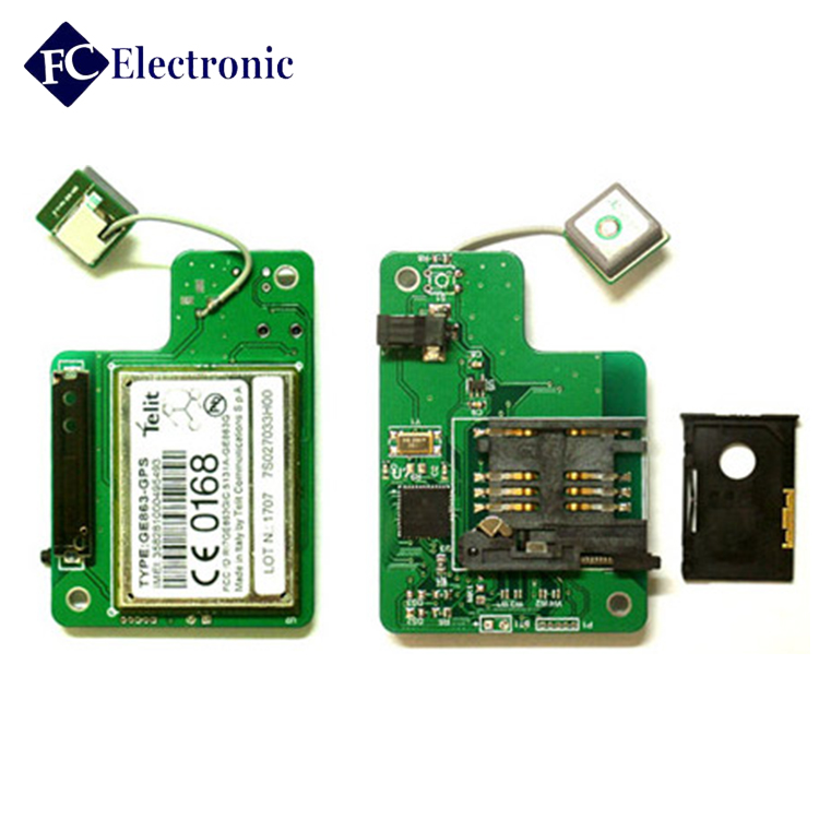 Electronic Module PCB Manufacturer In China For Mini Gps Tracker Pcb Circuit Board