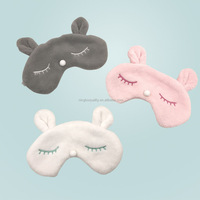 Croal Velvet Funny Travel Eye Mask