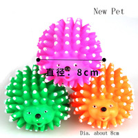 Different styles hot sale hedgehog dog chew toy vinyl squeaky hedgehog toy