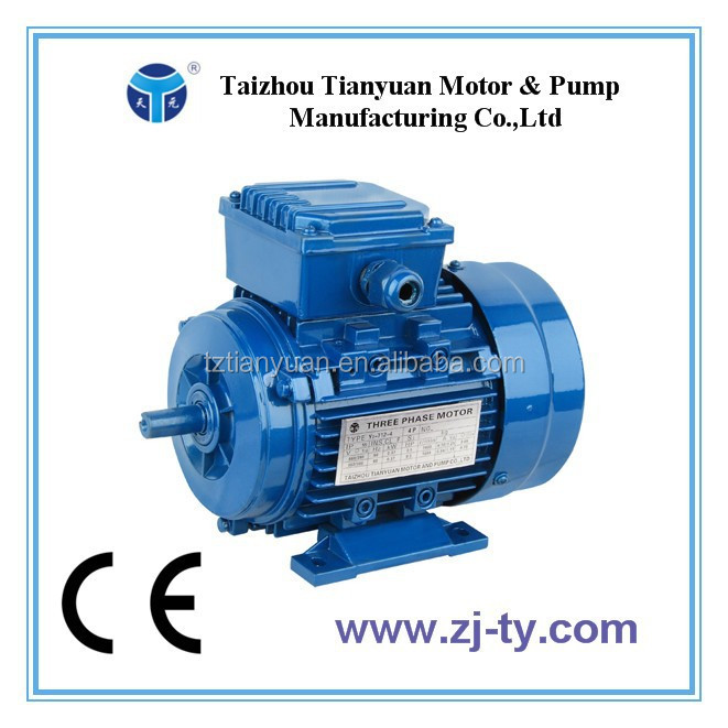 Y2 Series China Manufacturer Aluminum Housing Three Phase Induction Motor